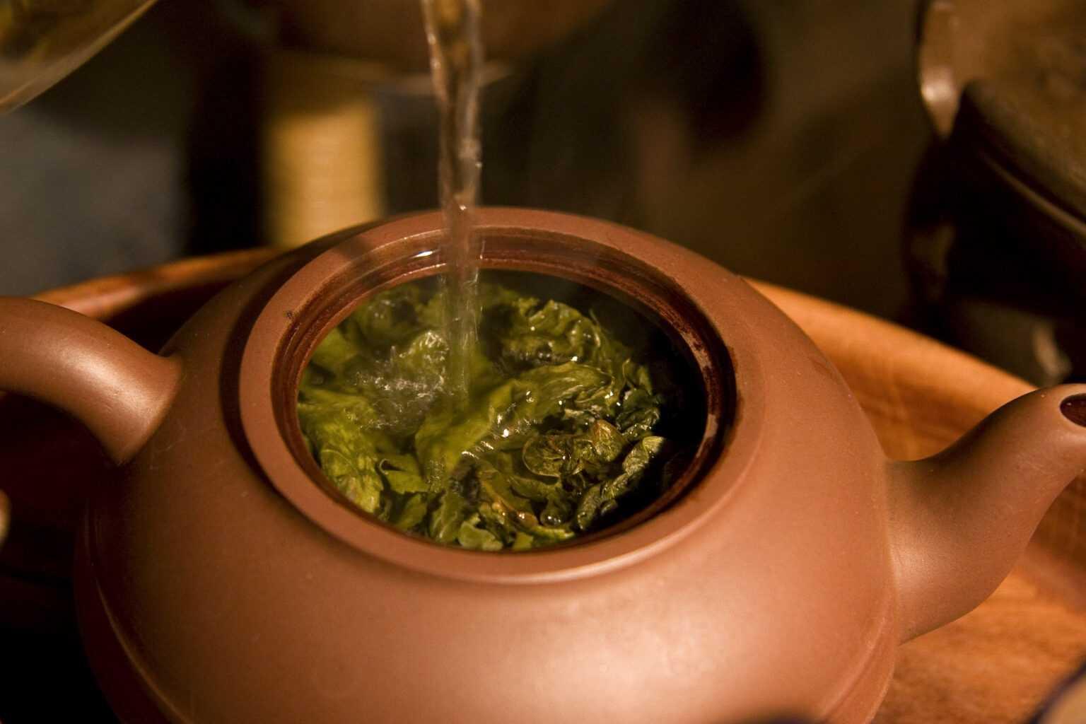 Как не испортить чай водой