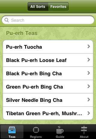 Топ-7 чайных приложений