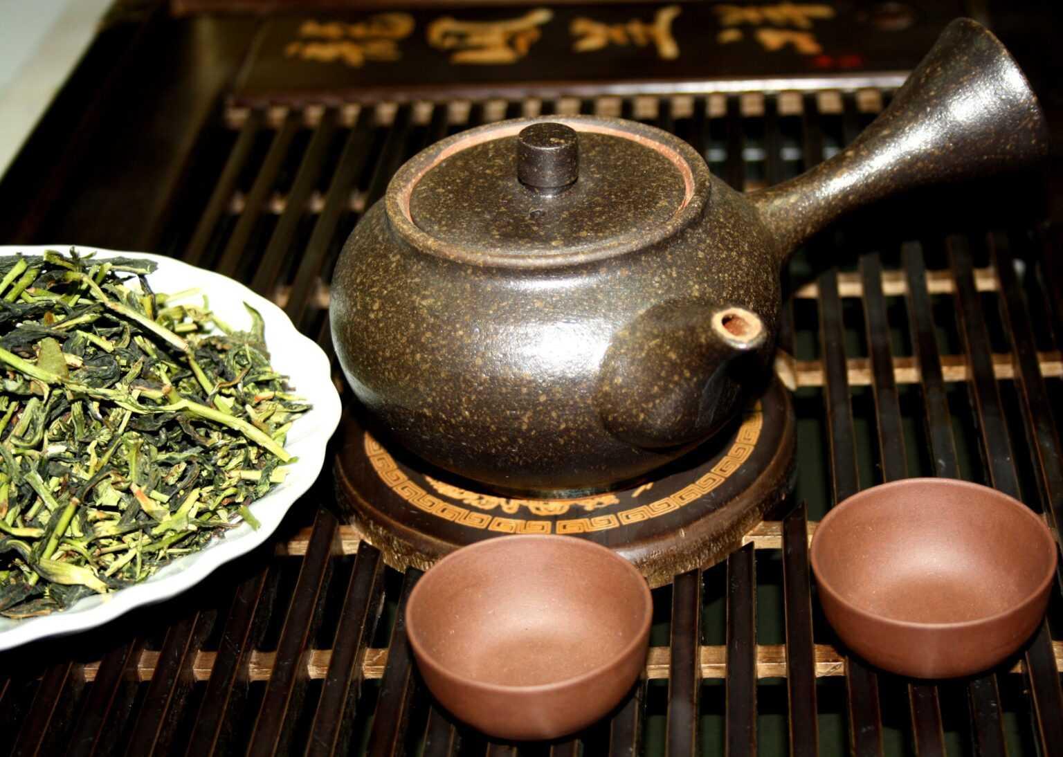 Ферментация чая и души