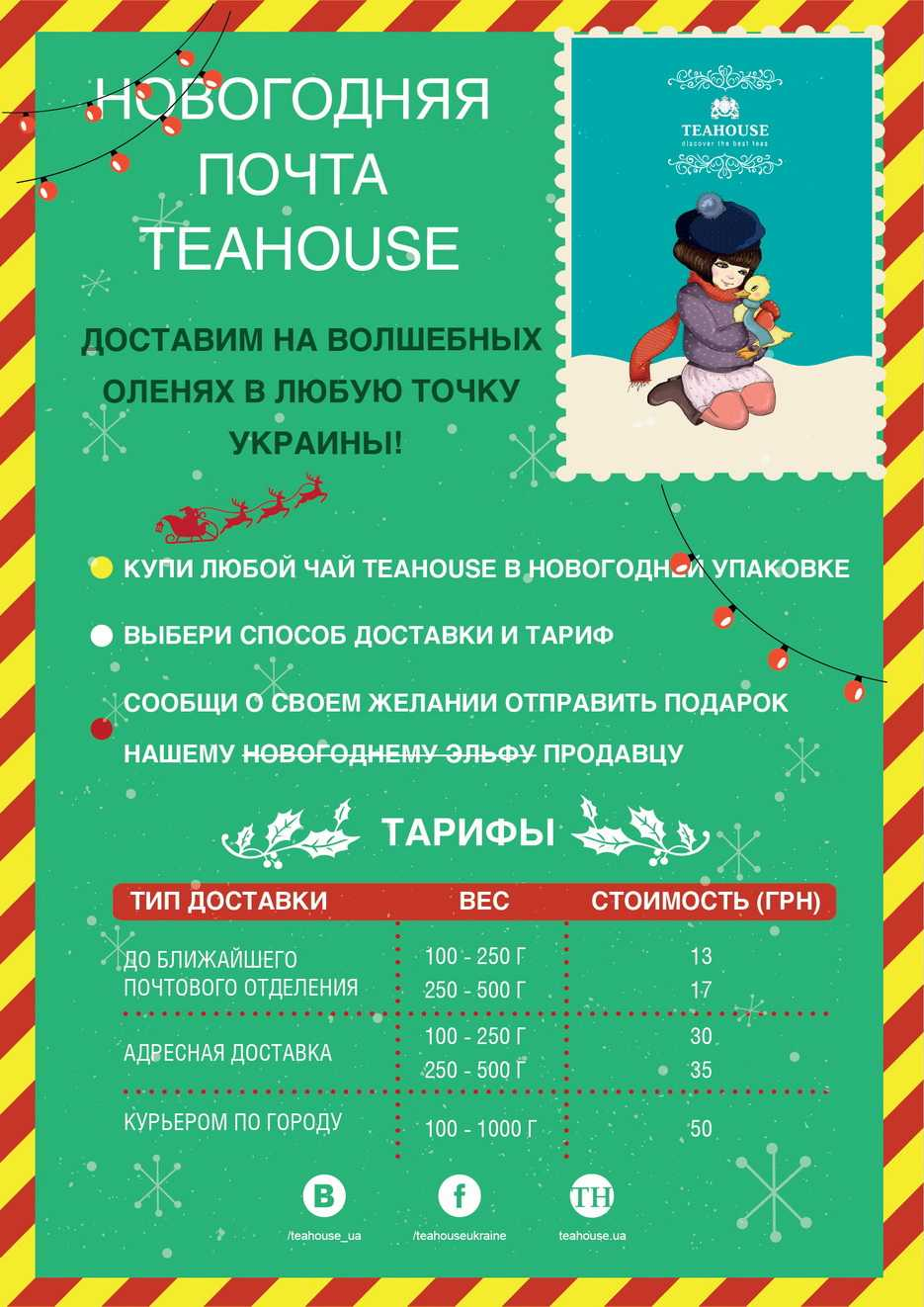 Новорічна пошта Teahouse!