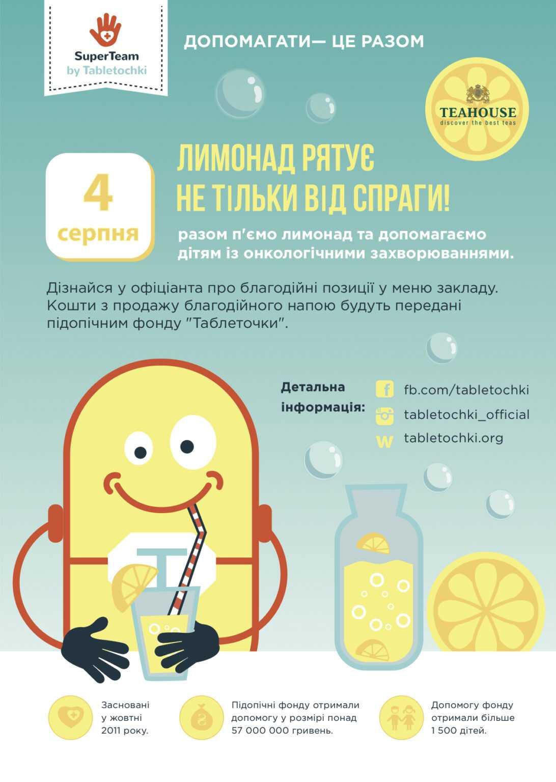 Благодійний День Лимонаду