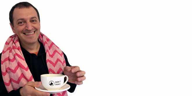Don't panic — drink tea!