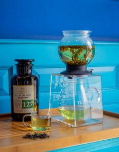 Чай зеленый органический Грузия сад Эцери №127
